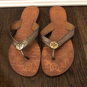 Tory Burch size 9 thong sandals